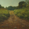The Road Less Traveled (Again)<br /> 8 x 10<br /> Oil on canvas panel