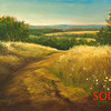 Castle Rock<br /> 5x7 <br /> Oil on canvas panel