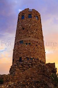 Watchtower At Sunrise