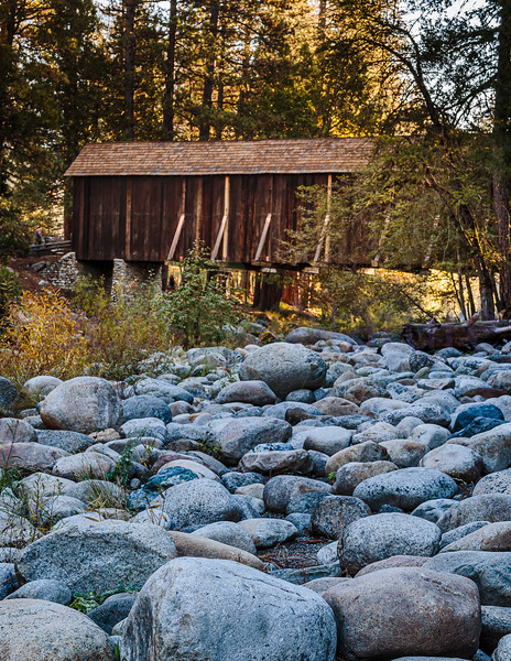 Early Morning At The Covered Bridge