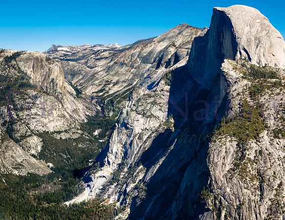 Half Dome Over Yosemite Valley