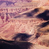 Cloud shadows over low cliffs, Grand Canyon National Park, Coconino County, Arizona
