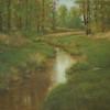 Steigerwald Reflections I<br /> 8 x 10<br /> Oil on canvas board