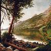 Jenny Lake<br /> 16 x 20<br /> Oil on canvas