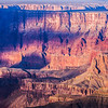 Cliffs during sunset in Grand Canyon National Park, Coconino County, Arizona