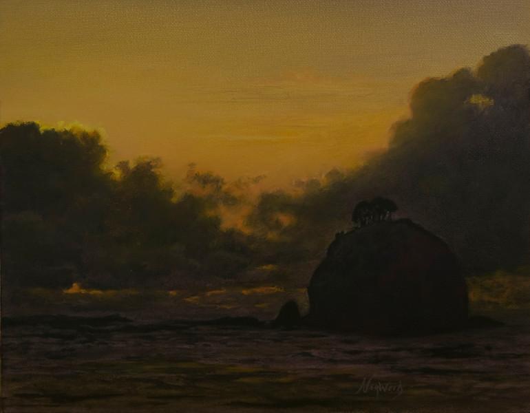 La Push<br /> 8x10<br /> Oil on canvas