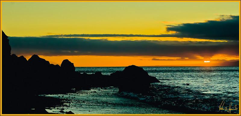 """""""GALAPAGOS ISLAND SUNSET"""""""