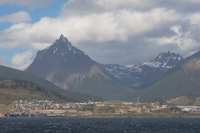 The town of Ushuaia -  Argentina