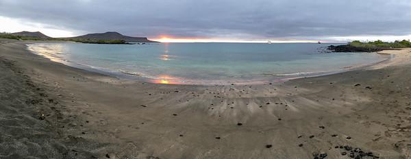 Post Office Bay sunset  - Galapagos, Ecuador
