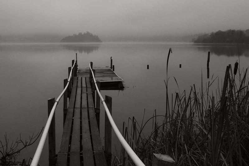 Dock, Campbell Lake, Washington