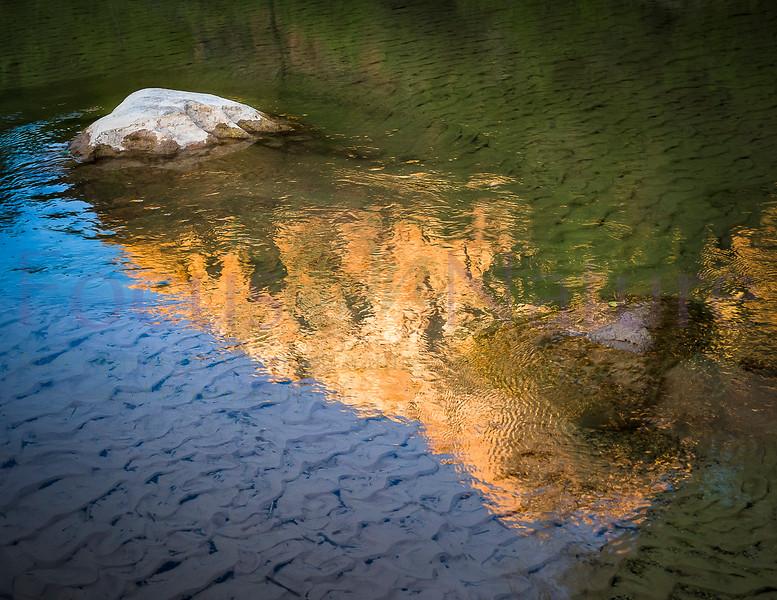 Zion Sunset Reflection