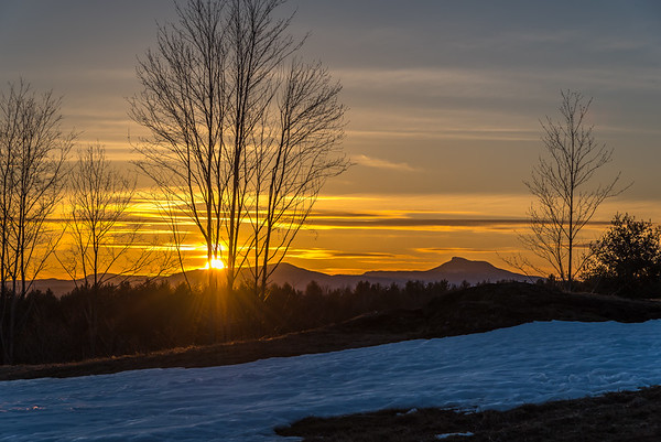 Sunset, Camel's Hump