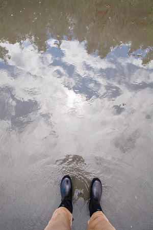Outdoor explorer feet series, Freshwater Bay, Port Angeles, WA USA
