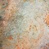 Dinosaur tracks, Cretaceous, Cedar Mountain Formation, Moab area, Grand County, Utah