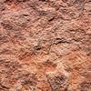 Dinosaur track, Navajo Sandstone, Tuba City area, Navajo Nation, Coconino County, Arizona