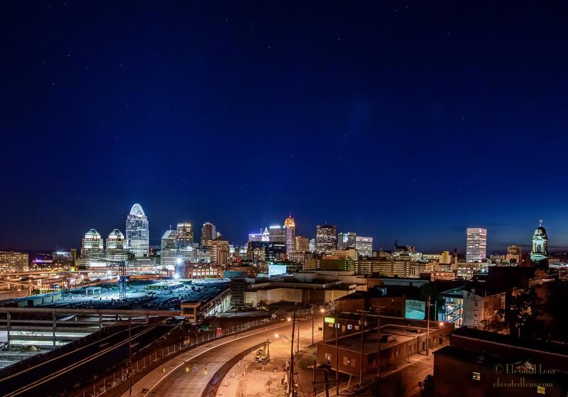 Cincinnati Skyline - 9/24/2012