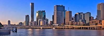 Brisbane in afternoon sun