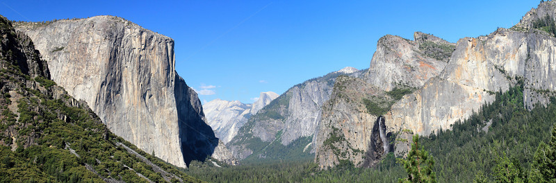 Tunnel view, Yosemite, CA