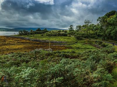 Loch Scridain am Kilfinichen House (HDR)
