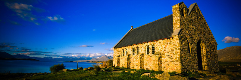 Day, Church of the Good Shepherd, Lake Tekapo, Canterbury, South Island, New Zealand
