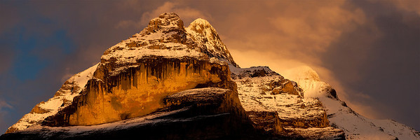 The Jungfrau at Sunset