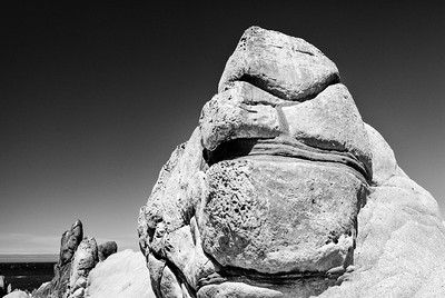 The Troll Sphinx - North of Del Mar Point