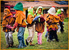 """THE DANCERS"" - A LOCAL SCHOOL SUPPORTED BY THE GRAND CIRCLE FOUNDATION IN THE SACRED VALLEY IN PERU ON NOVEMBER 15, 2011"