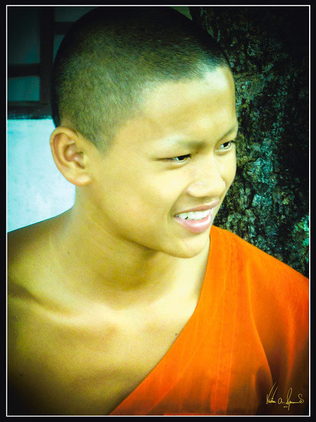 """THE BUDDHIST MONK"""