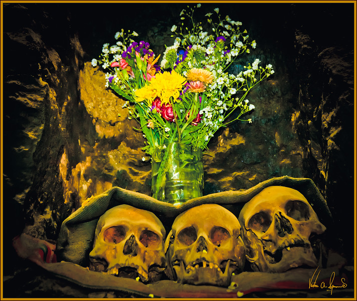 """THE FLOWERS ARE A NICE TOUCH"" - A PRIVATE HOME IN OLLANTAYTAMBO, PERU ON NOVEMBER 16, 2011"