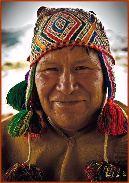 """""""THE SHAMAN"""" - OUTSIDE OF CUZCO, PERU ON NOVEMBER 18, 2011"""