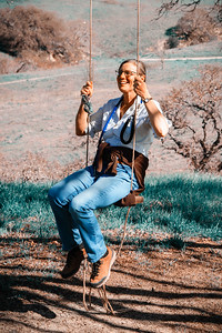 Stephany in the Swing of Things