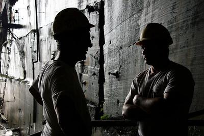workers - Cava di Candoglia, Italy