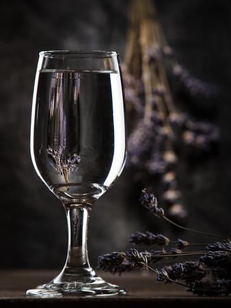 Lavendar & Glass