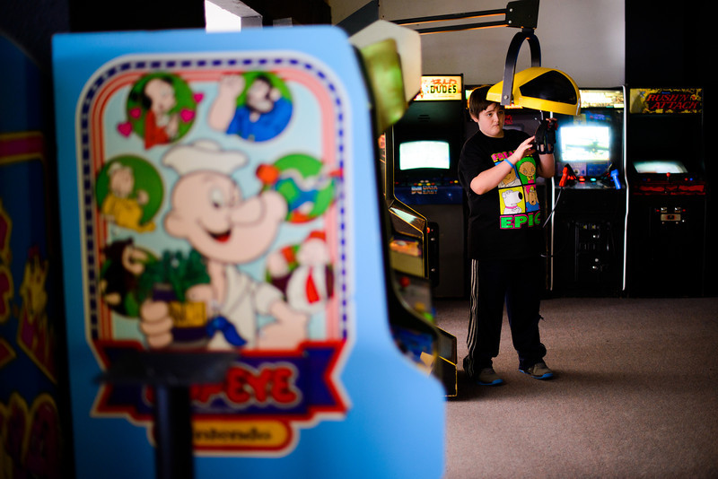 Joey's Arcade. Coos Bay, Ore. on Feb. 8, 2013.
