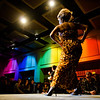 The University of Oregon's 2013 LGBTQA student drag show at the EMU ballroom drew a capacity crowd of 700, with some 200 being turned away at the doors in Eugene, Ore. on Jan. 19, 2013.