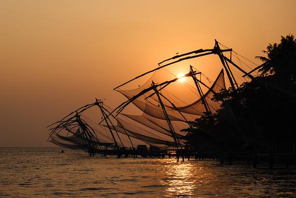 Kochi's fishing nets
