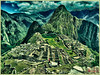 """""""MACHU PICCHU LANDSCAPE"""" (HDR) - THE LATE MORNING AT MACHU PICCHU, PERU ON NOVEMBER 17, 2011"""