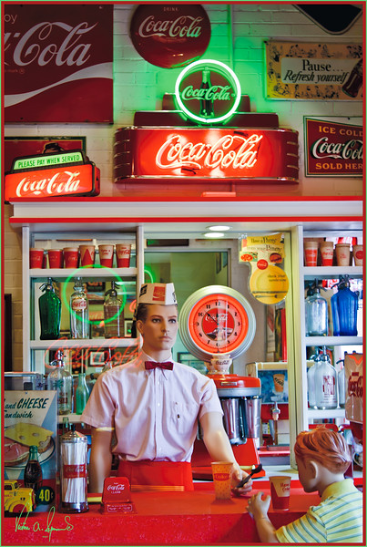 REMEMBER THE DRUGSTORE SODA FOUNTAIN?