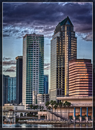 """A JANUARY NIGHT IN TAMPA"""