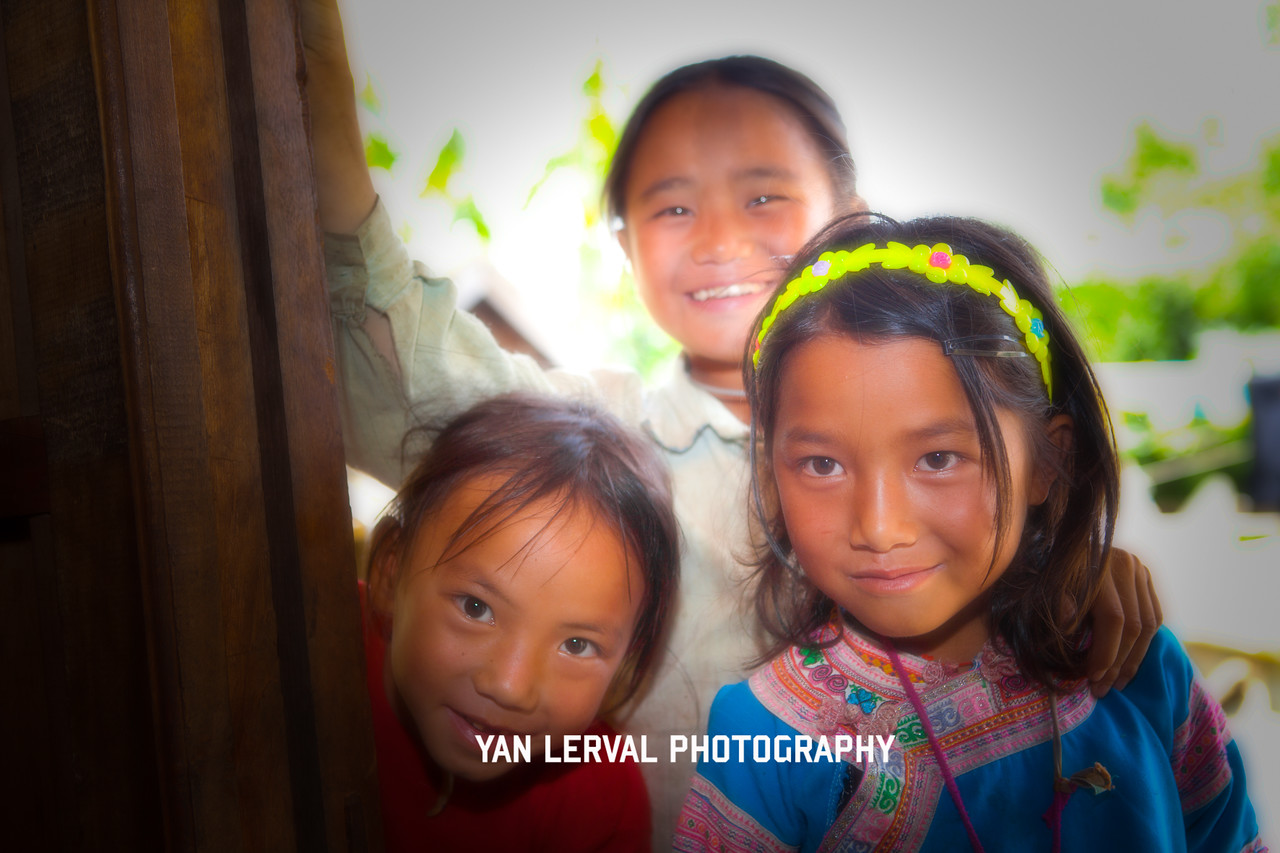 Angel faces in North Vietnam