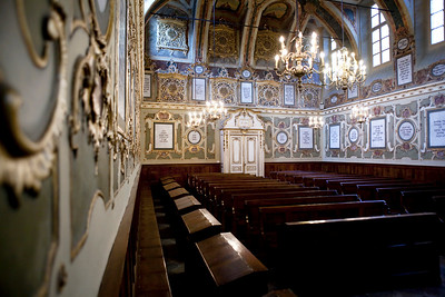 Sinagogue Interior - Casale Monferrato, Italy
