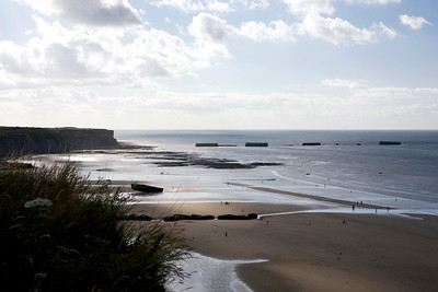 Gold beach - Normandy, France