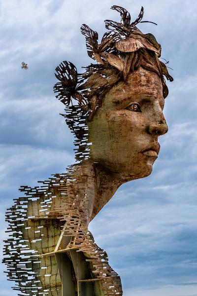Primavera Sculpture by Rafael San Juan in Old Havana, Cuba