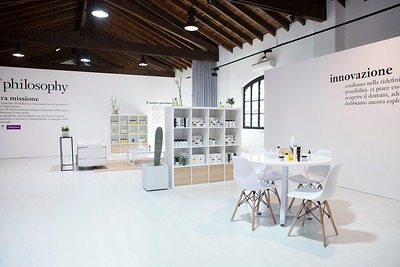 Coty press day location - Milan, Italy