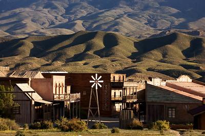 Sergio Leone's films set in Tabernas, Spain