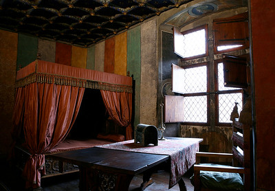 King's room - Issogne Castle, Val d'Aosta, Italy