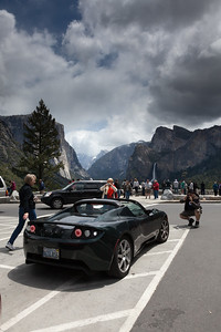 Two cameras pointed at Yosemite, two pointed at my car!