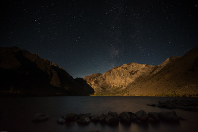 Starry Sky and Moonlight, Convict Lake