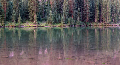 Pre-dawn reflections, Maroon Lake, CO