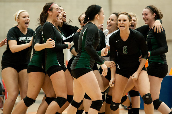 NJCAA Volleyball District Championship: Owens CC vs Oakland CC